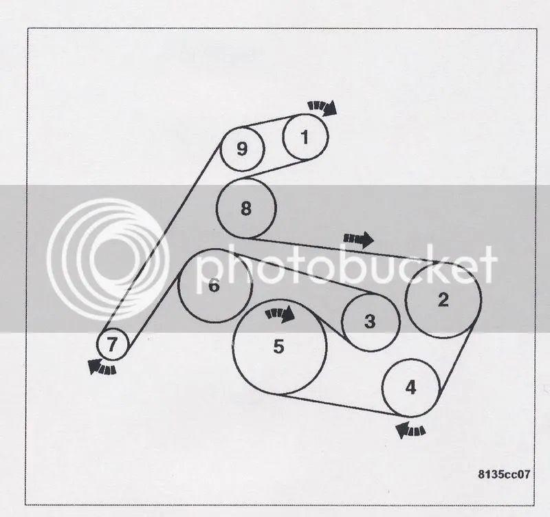 srt6 belt diagram
