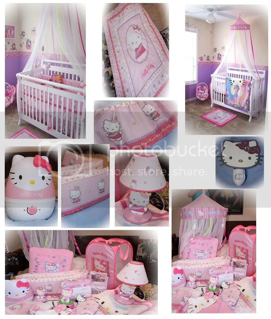 Untitled 1copy jpg looking to sell my daughters hello kitty nursery decorations