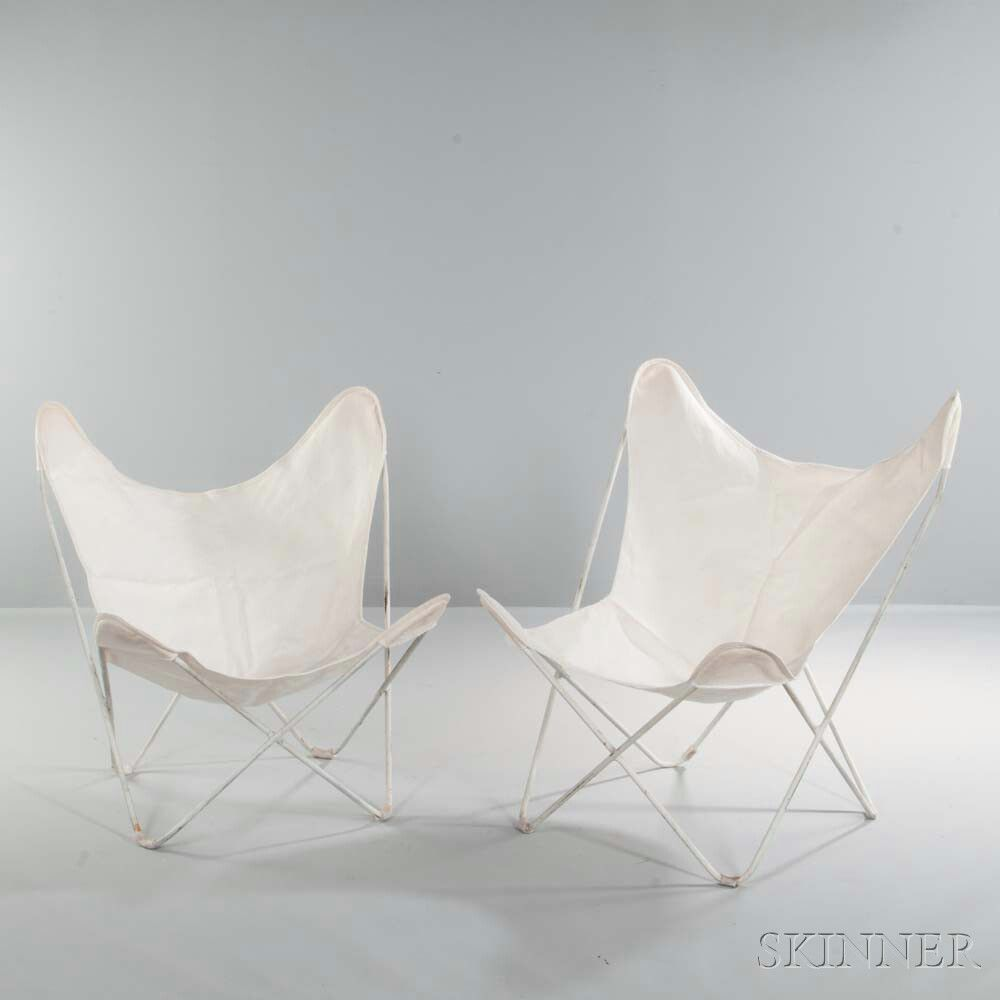 Butterfly Chair Knoll Two Jorge Ferrari Hardoy For Knoll Butterfly Chairs Sale Number