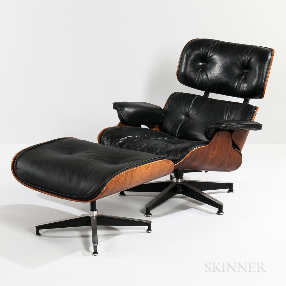 Eames Ottoman Ray And Charles Eames For Herman Miller Lounge Chair And Ottoman