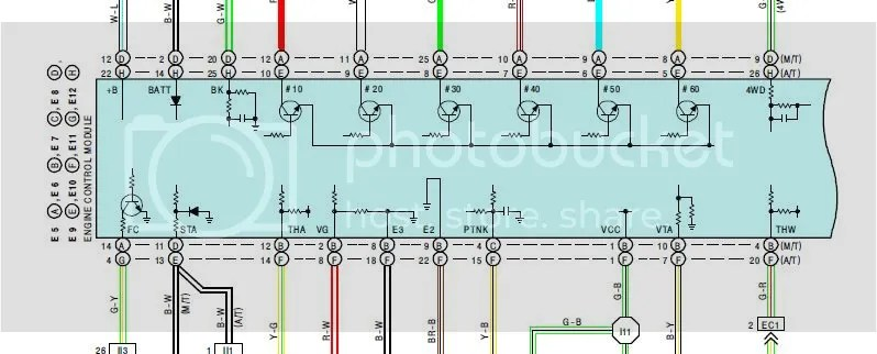90 Toyota Pickup Ecm Wiring Wiring Diagram