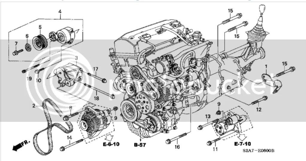 s2000 engine parts diagram