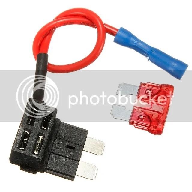 1X Add-A-Circuit ATM STANDARD Fuse Tap Hardwiring RADAR Dash Cam USB