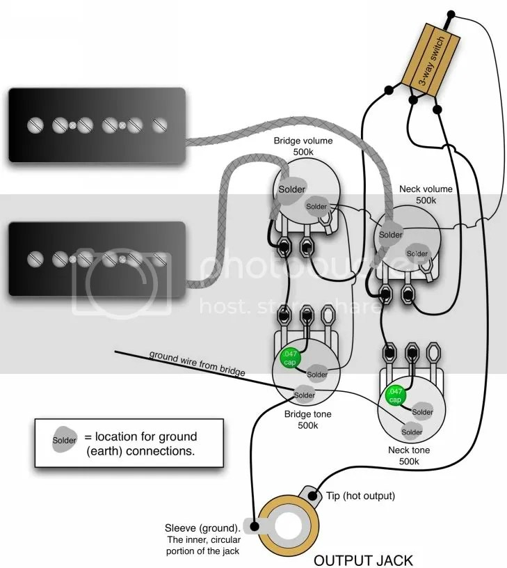 Single P90 Pickup Wiring Diagram - 0mostipgruppe-essende \u2022