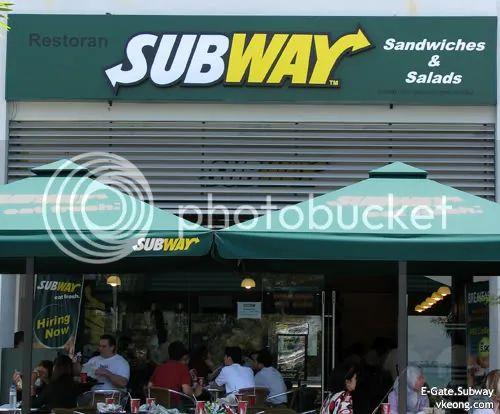 Subway sandwiches e gate malaysia food amp travel blog