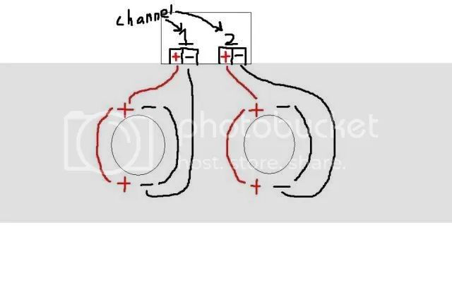 wire diagram for mono amp and 2 channel amp and 2 subs