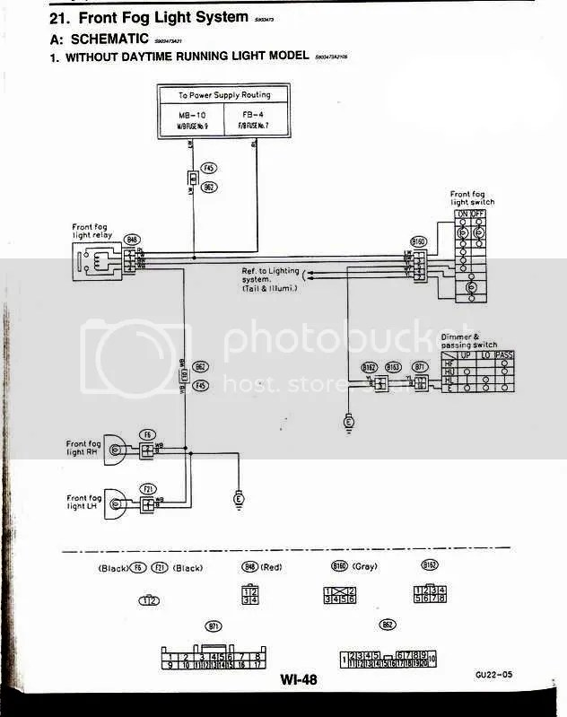 Headlights To Fog Light Relay Wiring Diagram Wiring Schematic Diagram