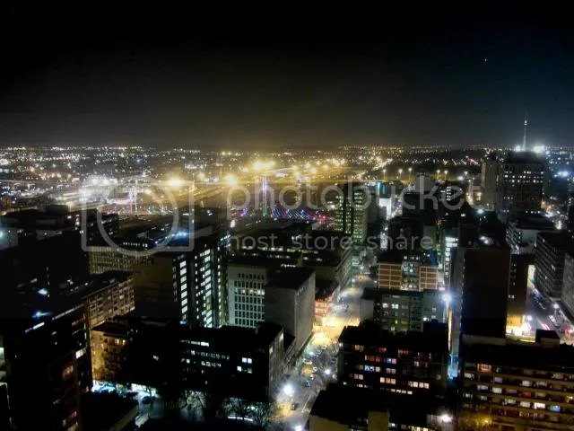 Parktonian Braamfontein Night Lights