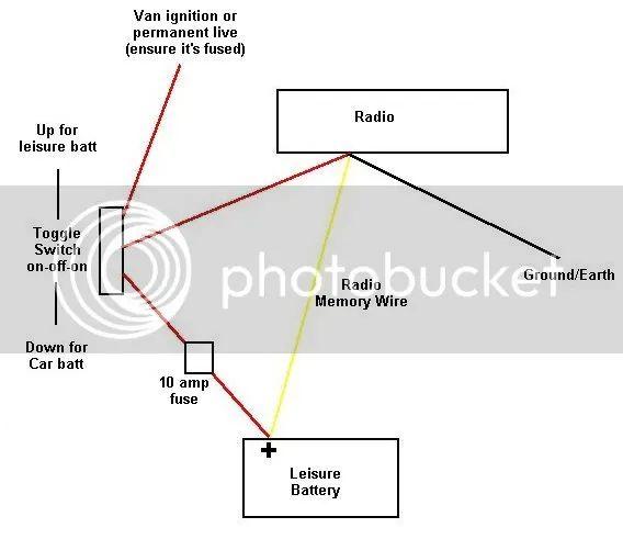 12v leisure battery wiring diagram