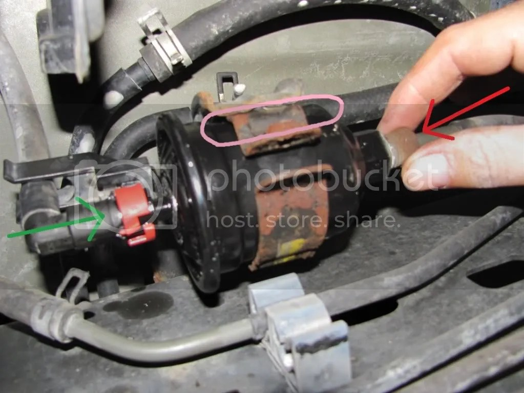 Fuel Filter replacement HOW-TO w/ pictures - Toyota Tundra Forums