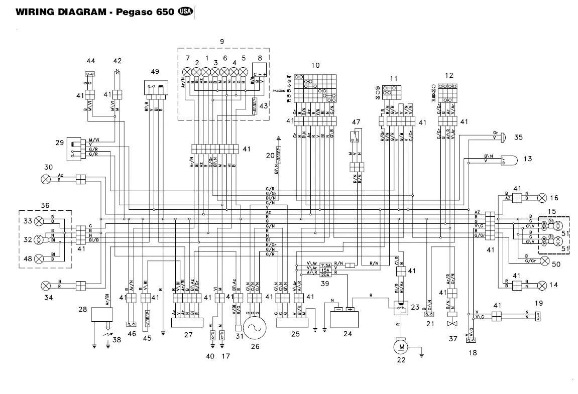 aprilia wiring diagrams owner manual \u0026 wiring diagram Electrical Wiring