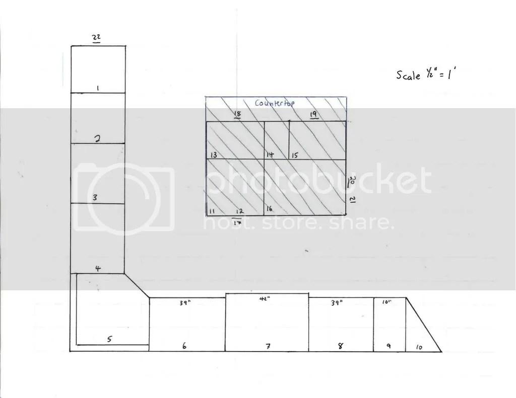 Kitchen Design Layout Graph Paper Barker Forums New Kitchen Design To Implementation 1 5