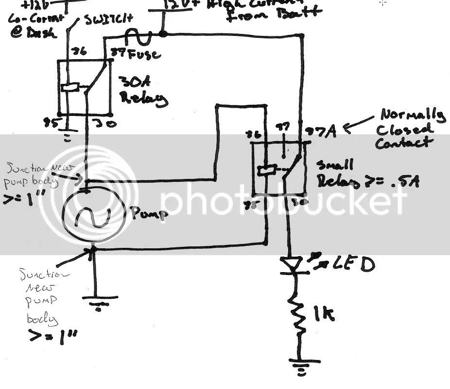 wiring a electric water pump ls1tech