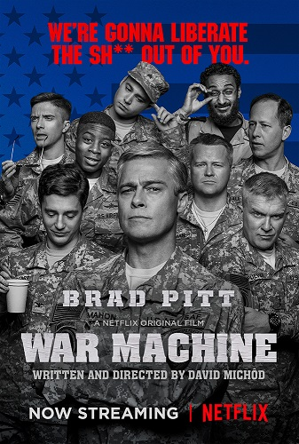 War Machine 2017 HDRip XviD AC3-EVO