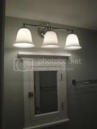Bath Lighting Over Medicine Cabinet | Room Ornament