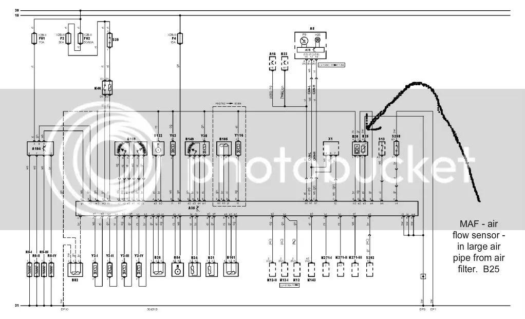 air flow sensor wiring diagram