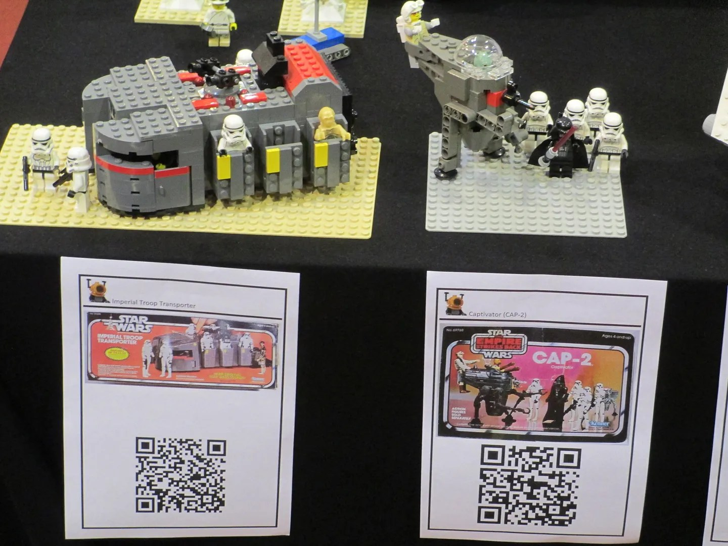 Lego Inspired Lego Inspired By Star Wars Vintage Vehicles