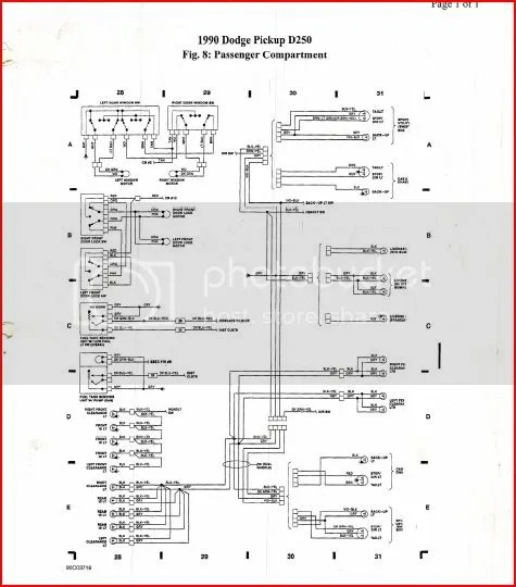 1990 Dodge Wiring Diagram Wiring Schematic Diagram
