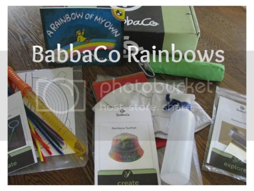 rainbows, preschool, subscription activities