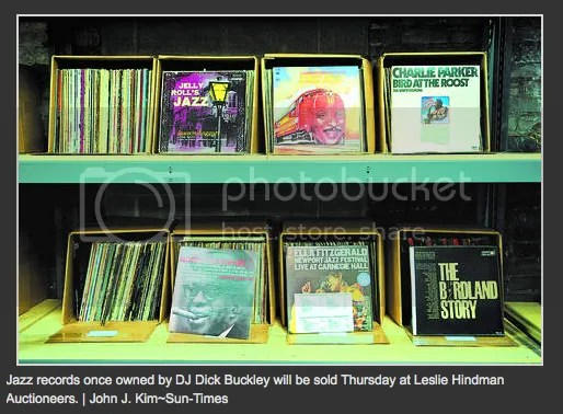 Dick Buckley's Record Collection