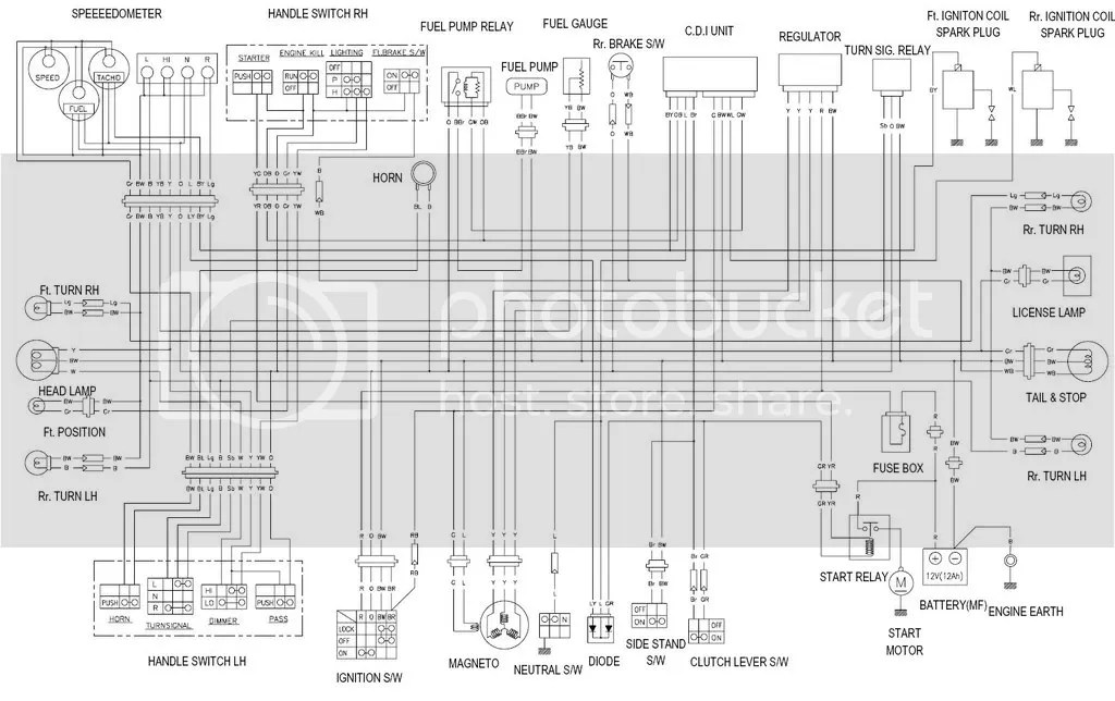gt250r wiring schematic