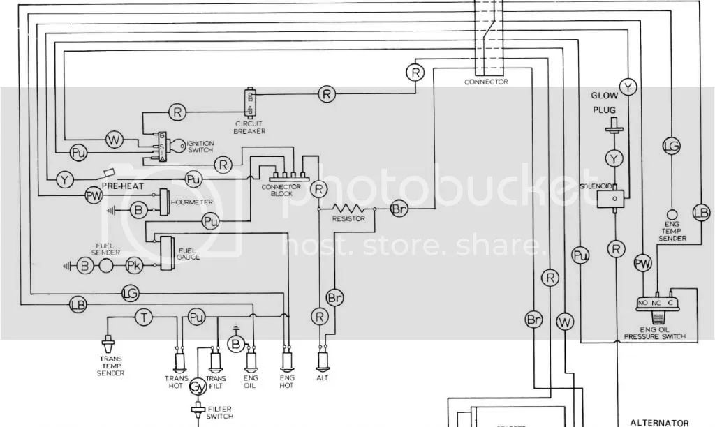 jcb 4cx wiring diagram of ignition switch