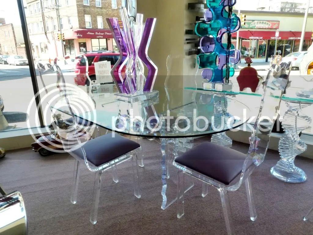 Acrylic chair dining room - Acrylic Chair Dining Room
