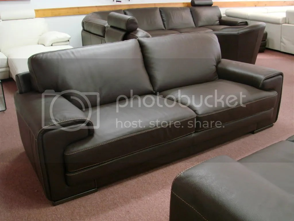 Natuzzi Sofa Test Natuzzi Dallas 2277 Leather Sofa In Brown Leather Pictures