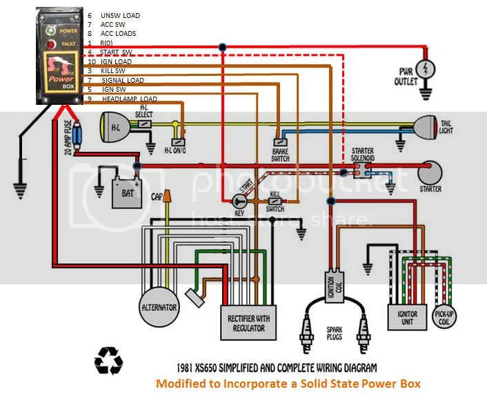 1981 xs650 rephased wiring diagram