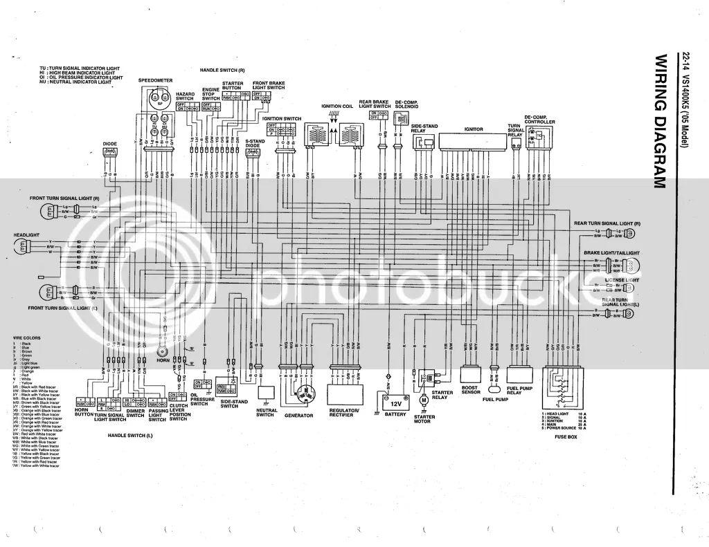 1999 suzuki intruder 1400 wiring diagram