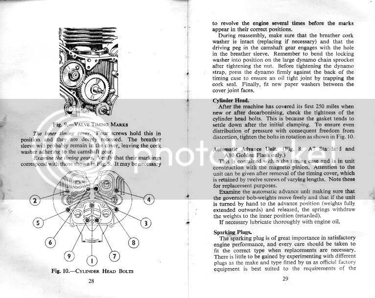 BSA Manual Book\u2026!!! Instruction Manual for A7 Twin, A7 Shooting Star