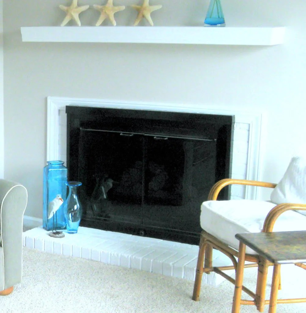 Heat Resistant Paint Fireplace Diy Home Staging Tips Should I Paint My Brick Fireplace