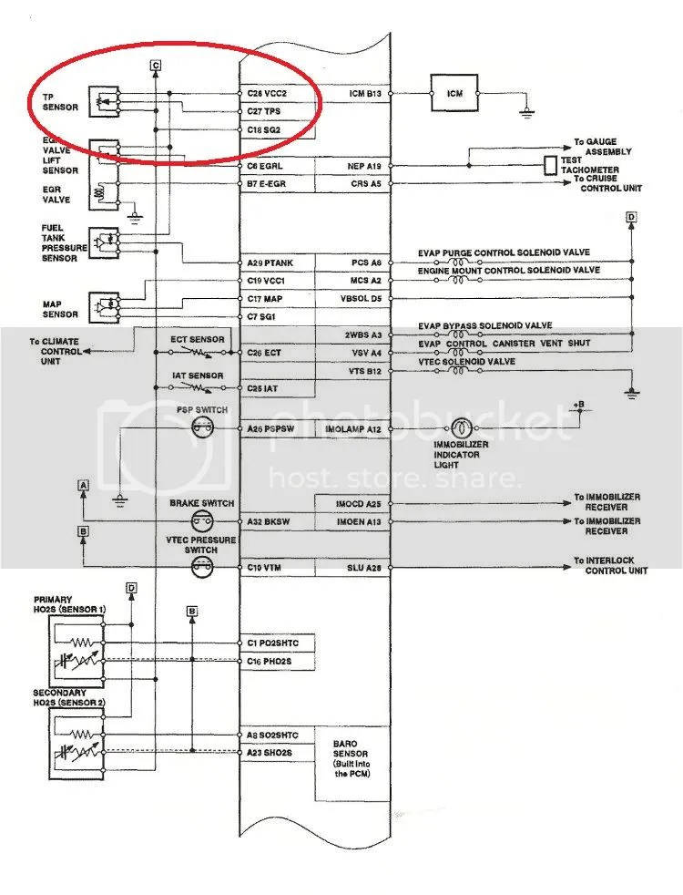 Honda Civic Tps Wiring Diagram Index listing of wiring diagrams