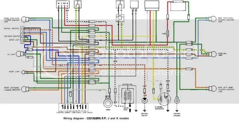 Crf450x Wire Diagram - Wiring Diagrams Schema