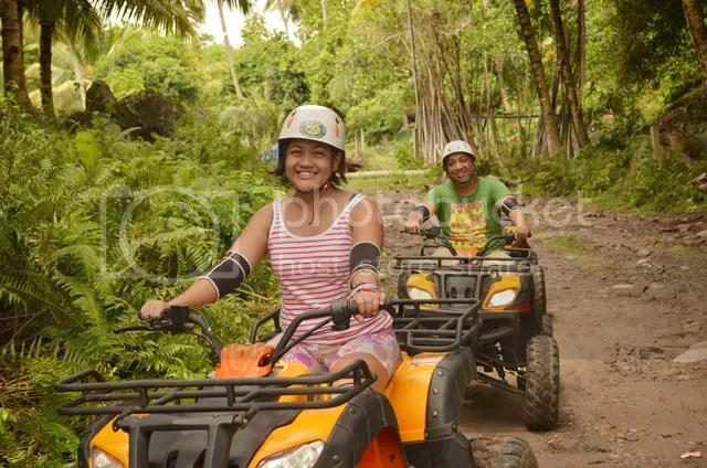 ATV ride in Tejero