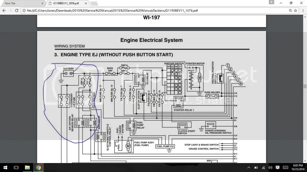 O2 Fuse Diagram Wiring Diagram