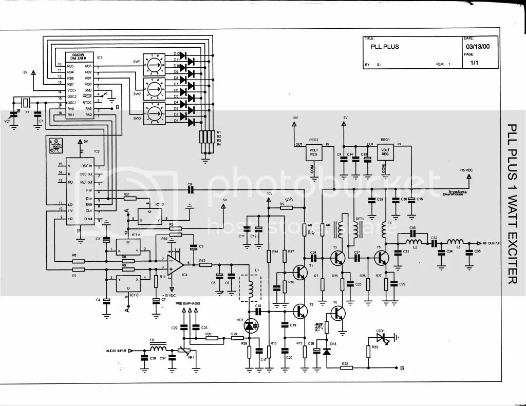 mc145170 pll fm transmitter