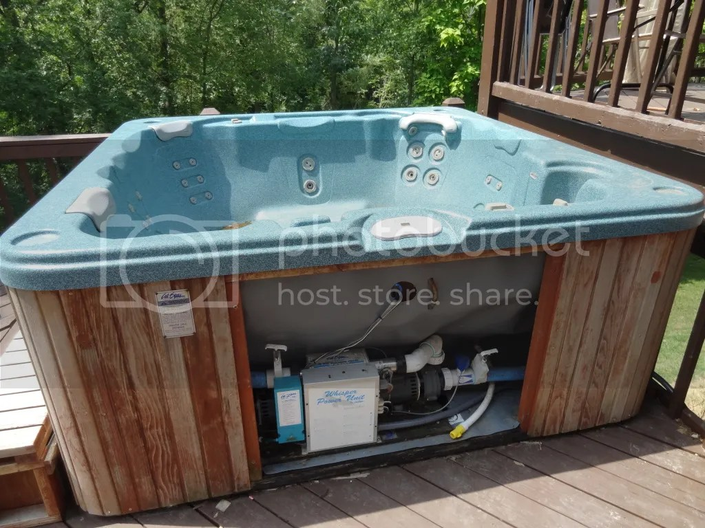 Spa Exterieur Ozone I Have A 2000 Calspa Hot Tub