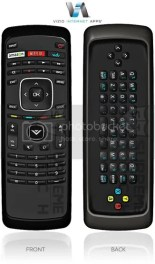TV Remote Control Front And Back