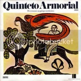 Quinteto Armorial: Do Romance ao Galope Nordestino (1974) - capa