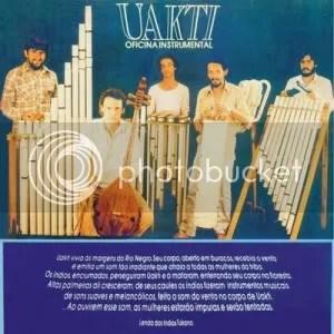 Uakti Oficina Instrumental 1981 - capa