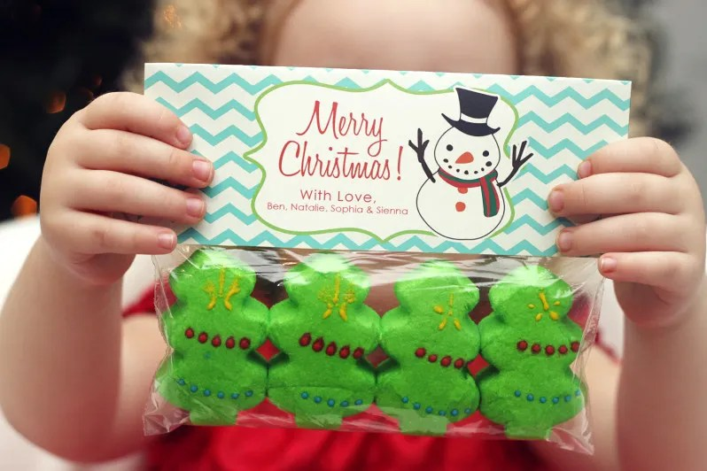 My Christmas Treat Bag Tag Collection \u2013 At Home With Natalie