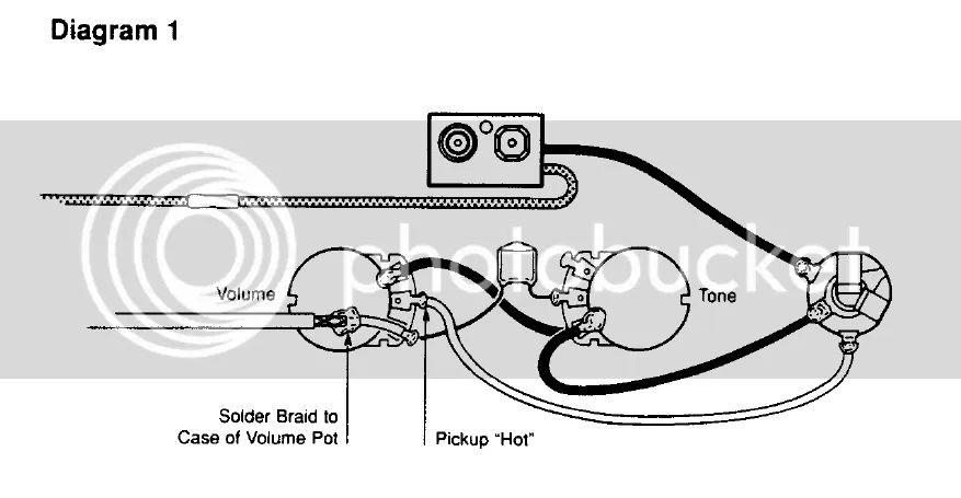 input jack wiring emg