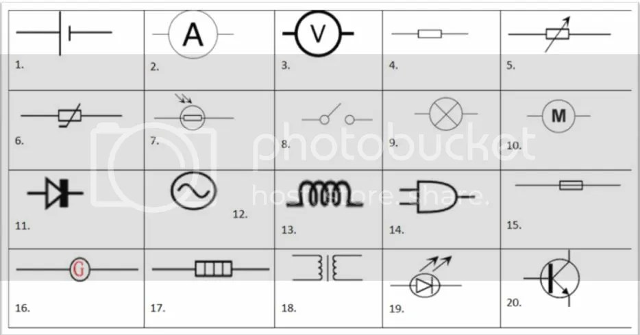 Circuit Symbols *Picture Quiz!* - By max123
