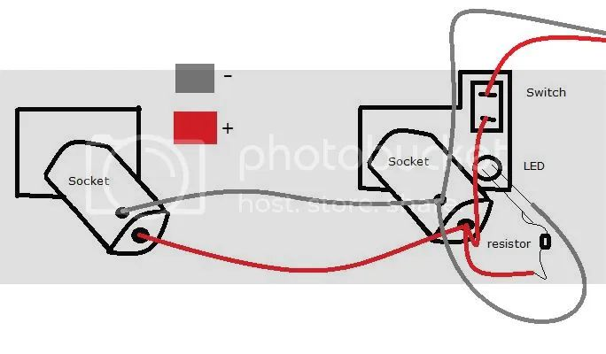 and wire them up here s the basic wiring diagram