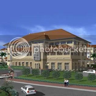 Gedung Kuliah Pasca Sarjana Universitas Padjadjaran Bandung