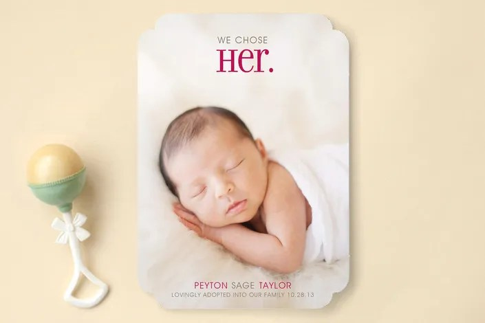 Coolest Baby Announcements 15 off Cool Mom Picks