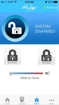 SkyLinkNet home security system without the monthly fees