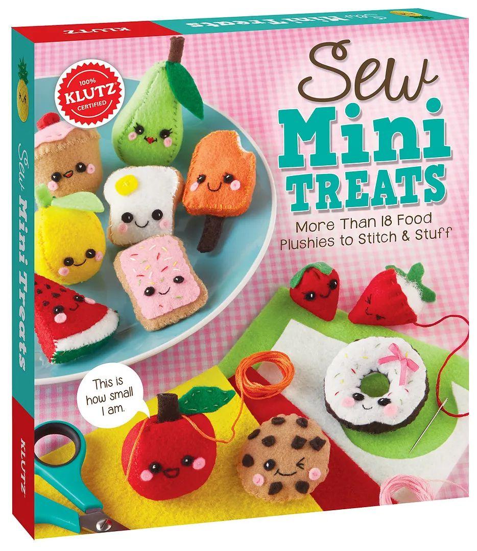 Craft kits for kids sew mini treats by klutz
