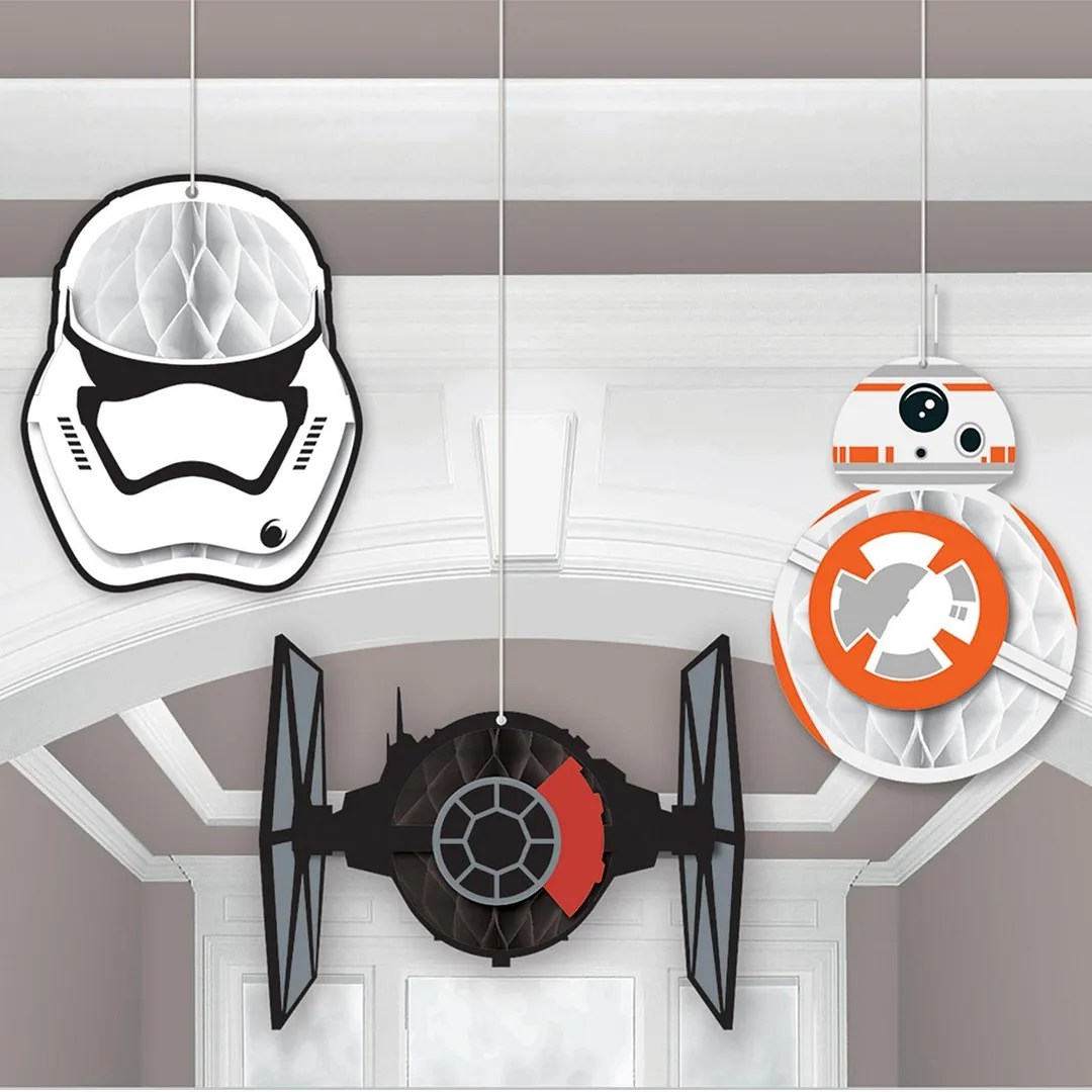 Star Wars Decorating Ideas 40 43 Star Wars The Force Awakens Birthday Party Ideas